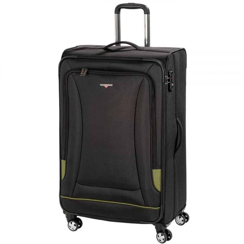 Hardware O-Zone Trolley 4-Rollen 80 cm in black-green