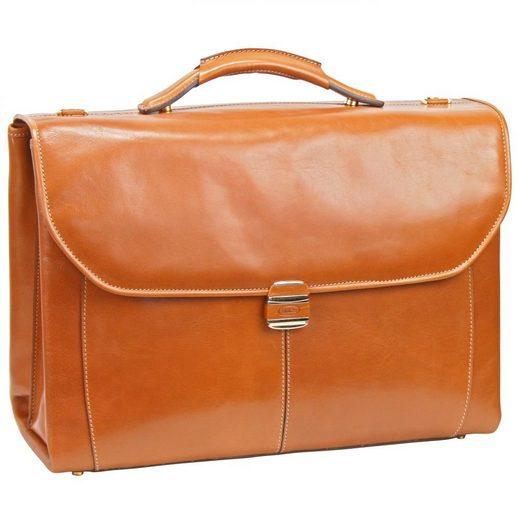 Bric's Life Pelle Aktentasche Leder 43 cm Laptopfach