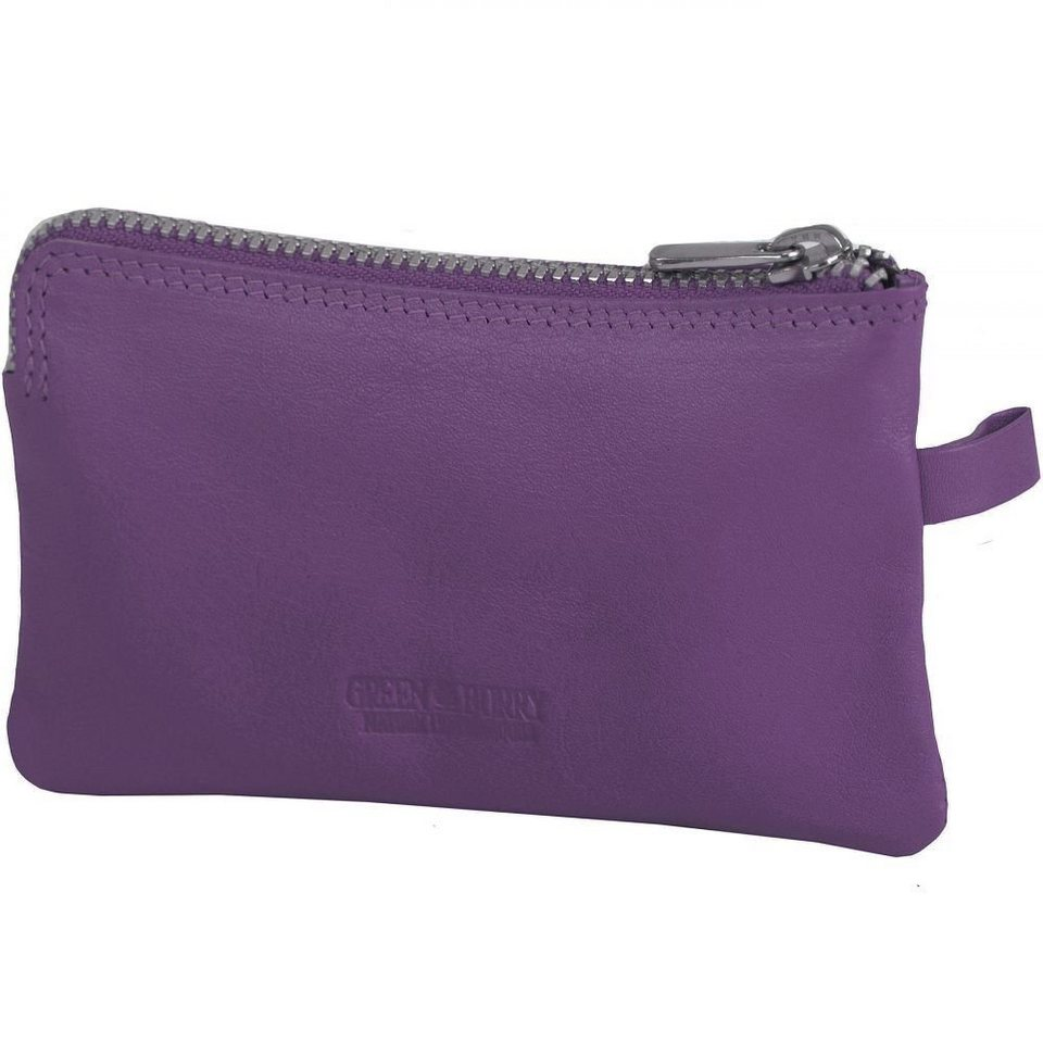 Greenburry Spongy Schlüsseletui Leder 11,5 cm in purple