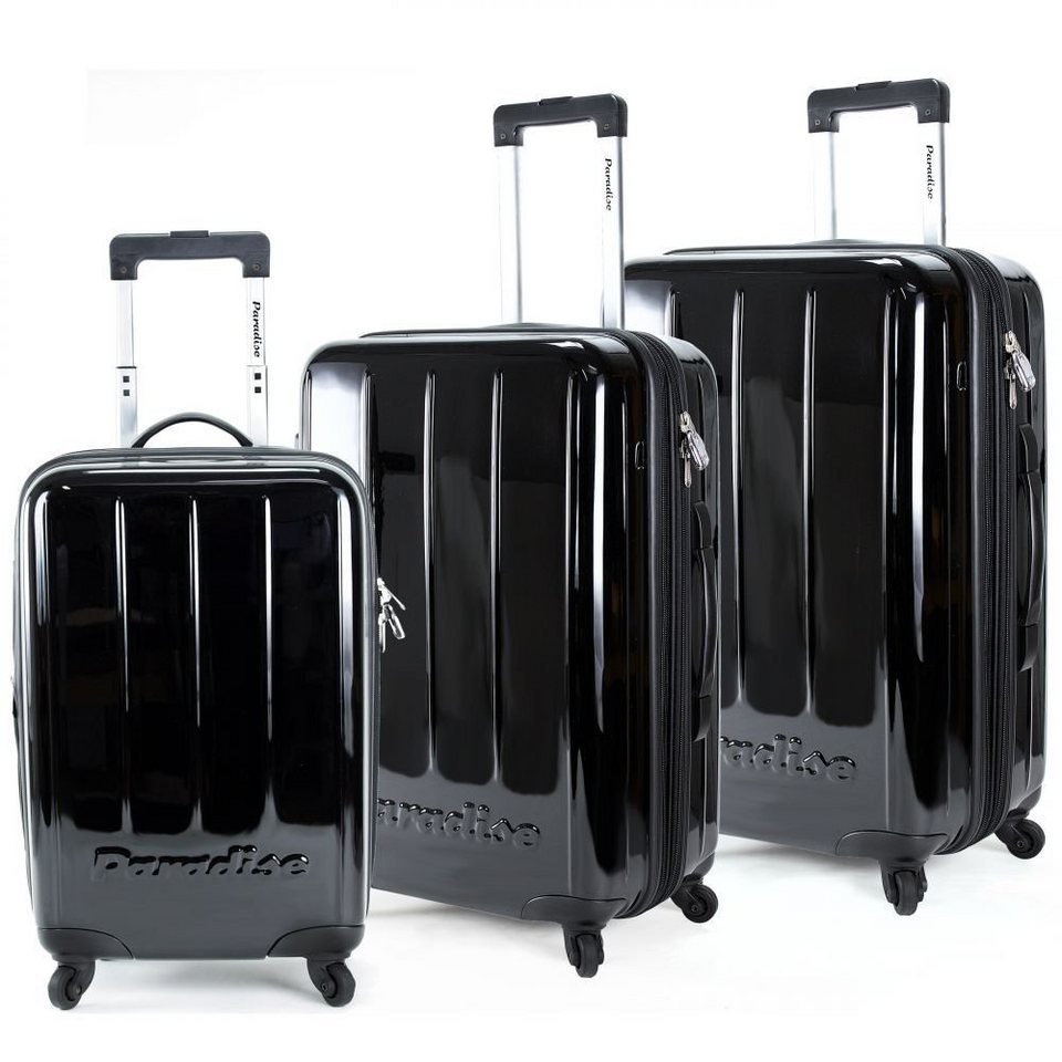 check in paradise maui 4 rollen trolley set 3tlg otto. Black Bedroom Furniture Sets. Home Design Ideas