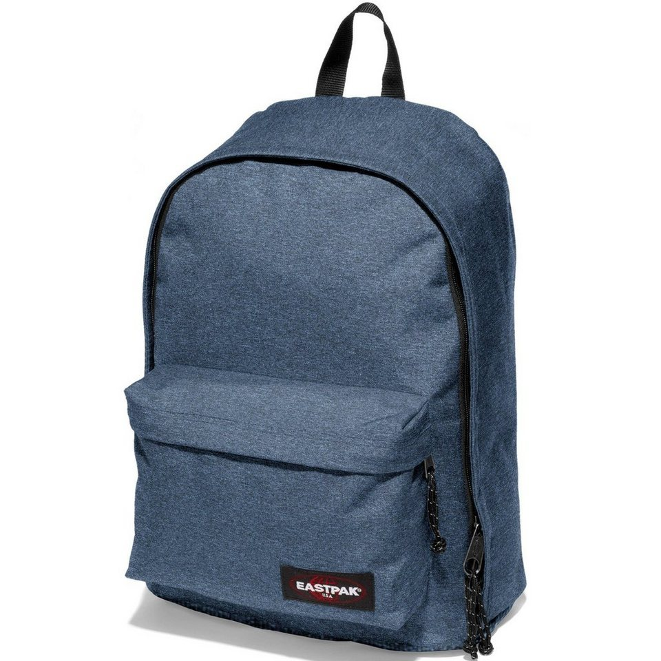 EASTPAK Authentic Collection Out of Office Rucksack 44 cm Laptopfach in double denim