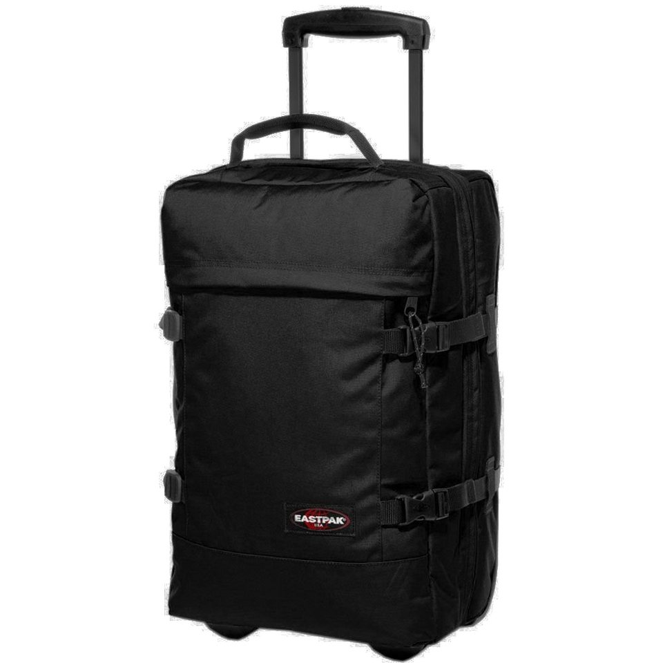 EASTPAK Authentic Collection Tranverz S Double-Deck 2-Rollen Reisetasche in black