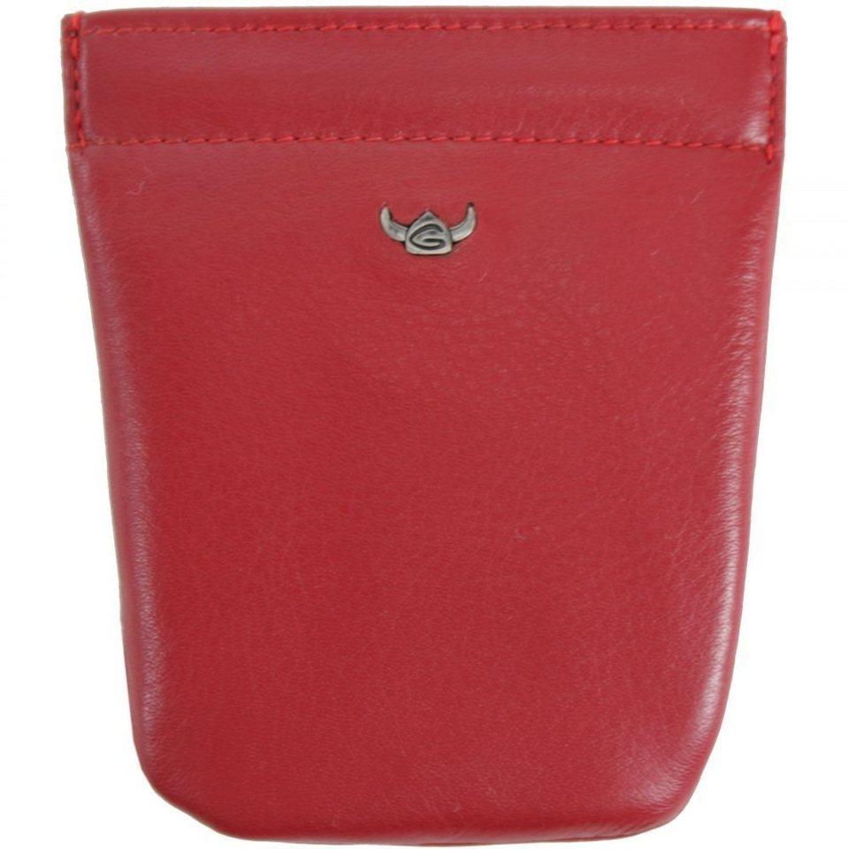 Golden Head Polo Schlüsseletui 12,5 cm Leder in rot