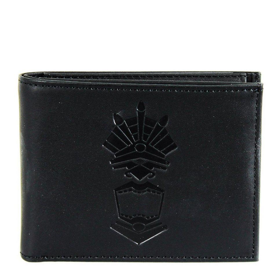 OXMOX Leather Pocket-Geldbörse Leder 10,5 cm in maya