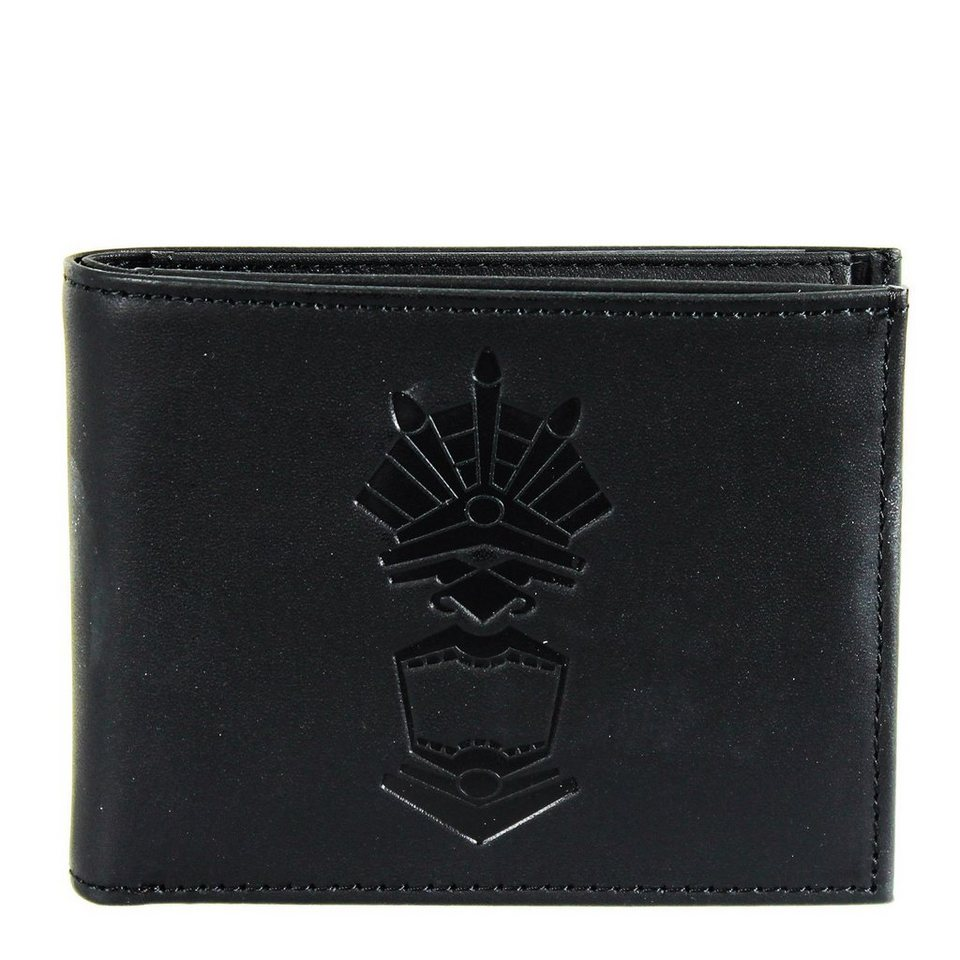 oxmox oxmox Leather Pocket-Geldbörse Leder 10,5 cm in maya