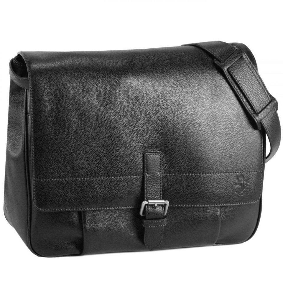 Otto Kern Firenze 3 Messenger Leder 41 cm in black
