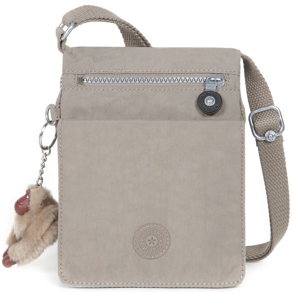 KIPLING Basic Travel ElDorado Umhängetasche 15 cm in warm grey