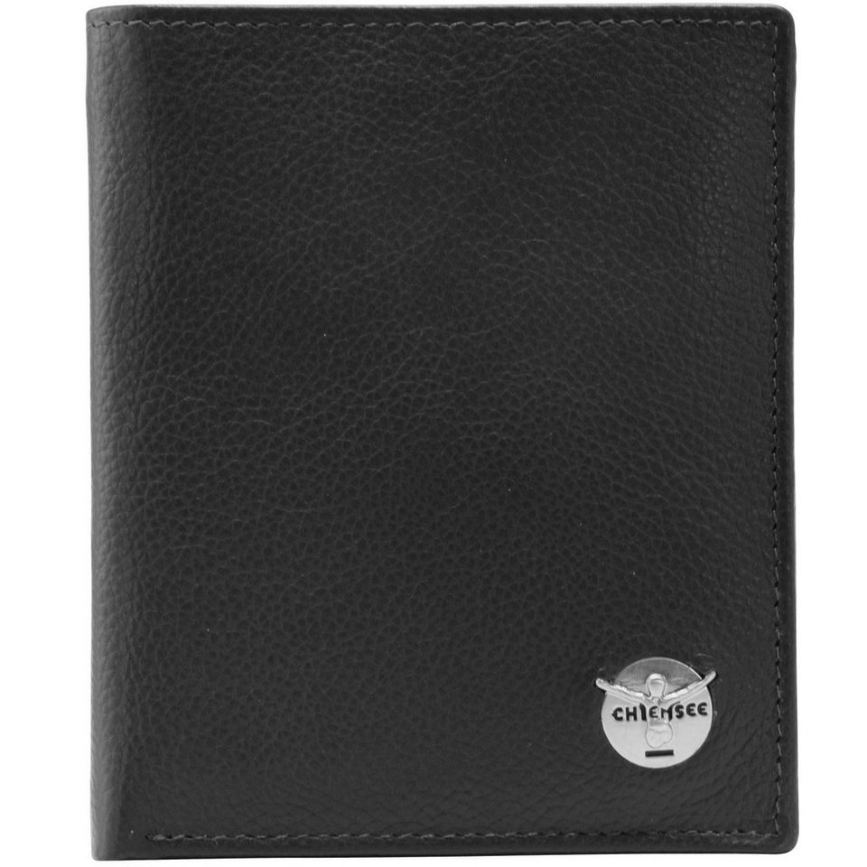 Chiemsee Chiemsee Classic Geldbörse Leder 11 cm in schwarz