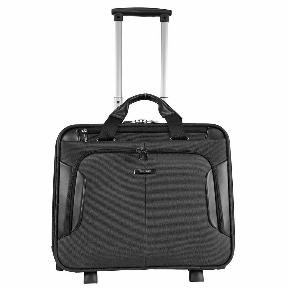 Samsonite XBR Upright 2-Rollen Business Trolley II 45,5 cm Laptopfach in black