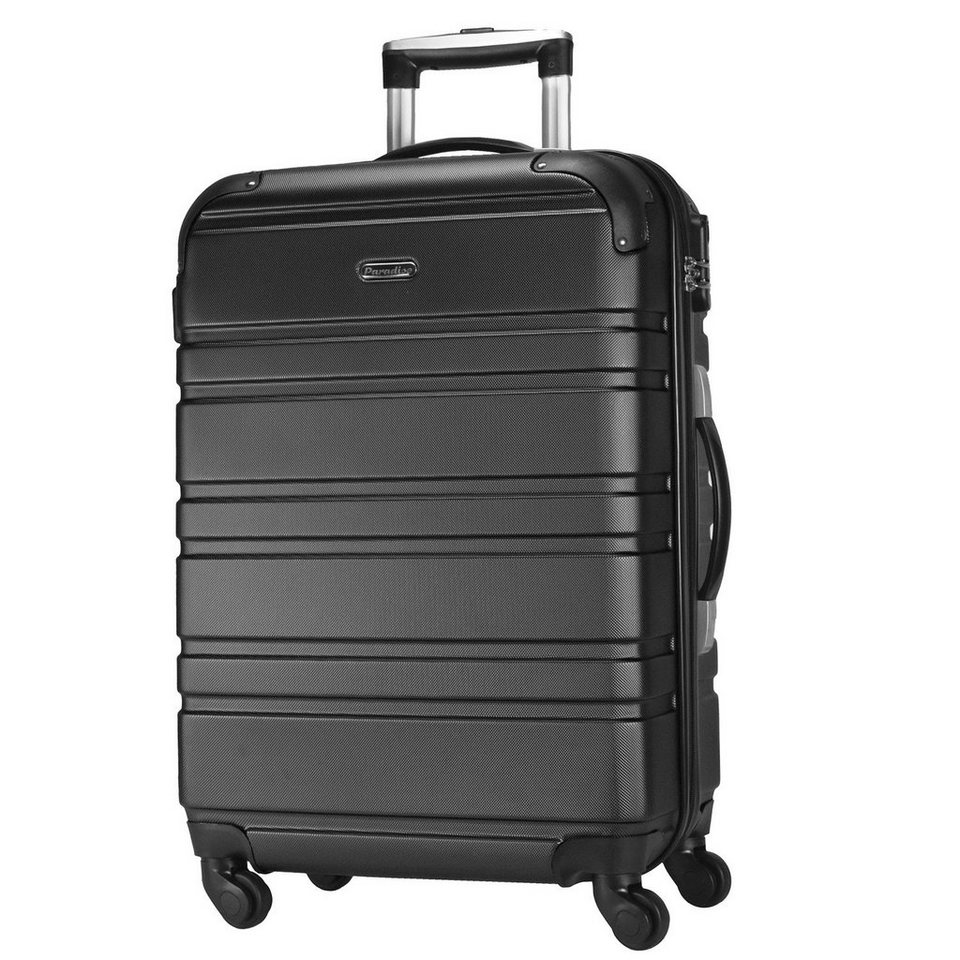 CHECK.IN CheckIn Paradise Miami 4-Rollen Trolley 76 cm in schwarz