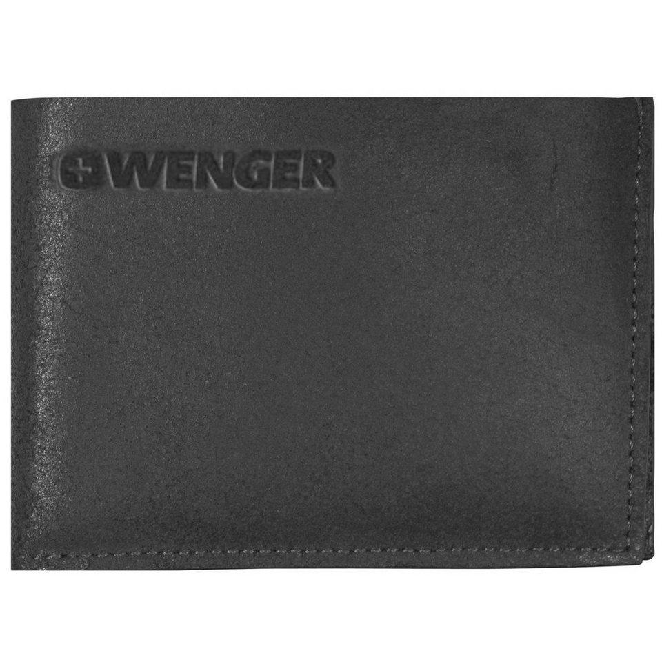 Wenger Wenger Foggy Geldbörse Leder 12 cm in black