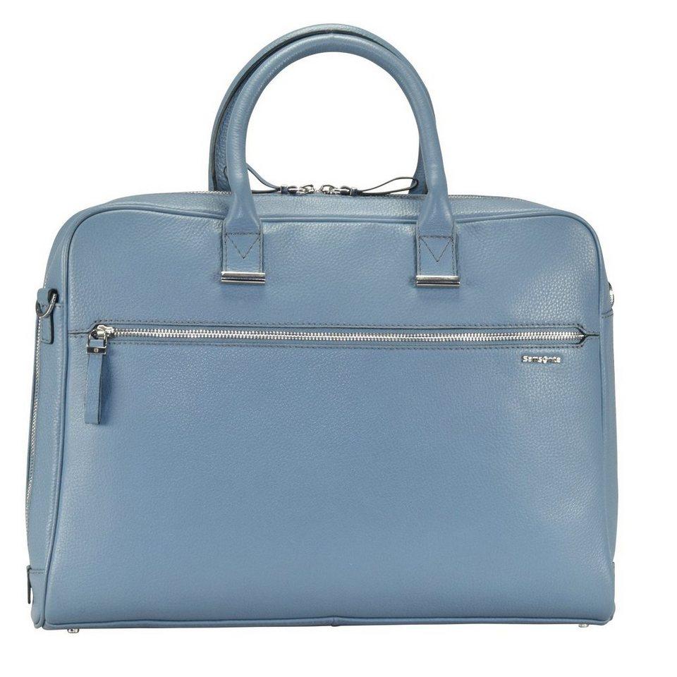 Samsonite Highline Business Aktentasche 41 cm Laptopfach in dusty blue