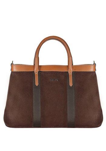 Damen Brics Life Handtasche 36 cm braun | 08016623855912
