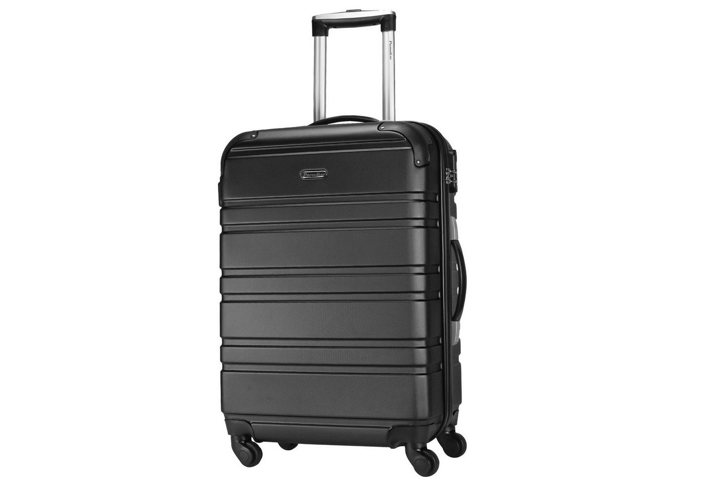 CHECK.IN® Paradise Miami 4-Rollen Trolley 66 cm | Taschen > Koffer & Trolleys > Trolleys | Schwarz | CHECK.IN®