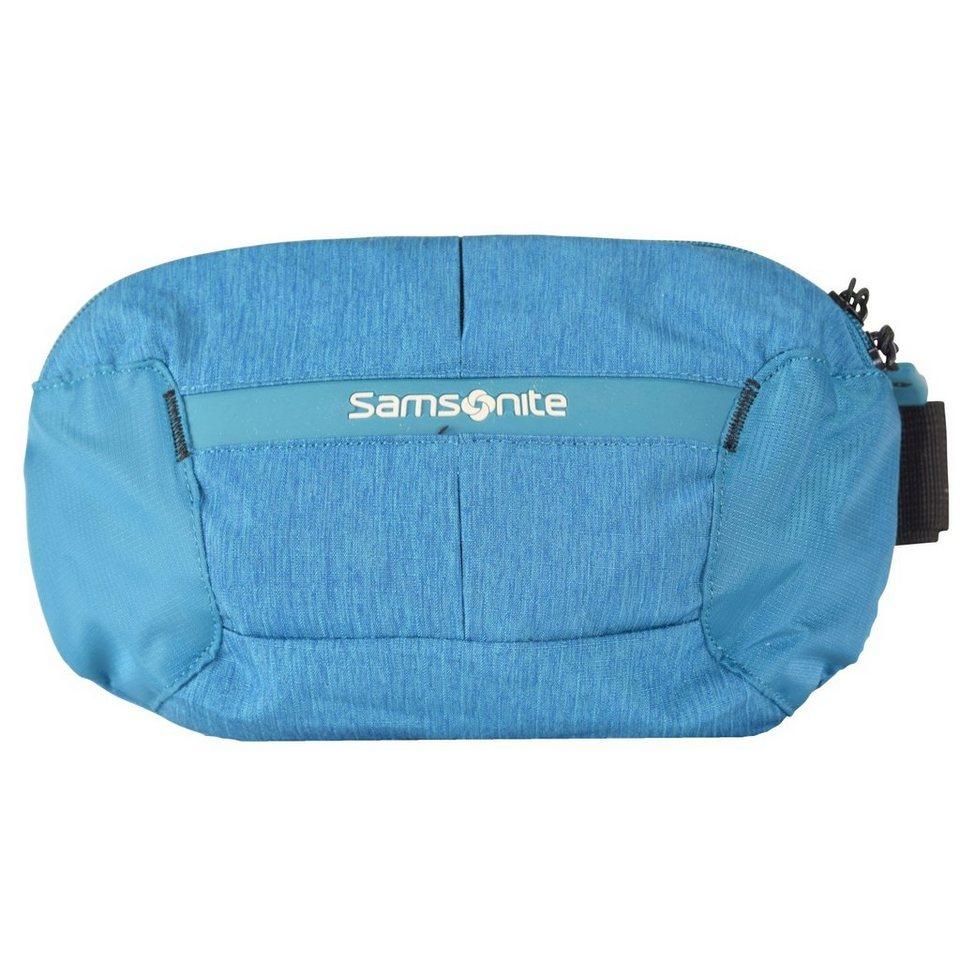 Samsonite Rewind Gürteltasche 24 cm in turquoise
