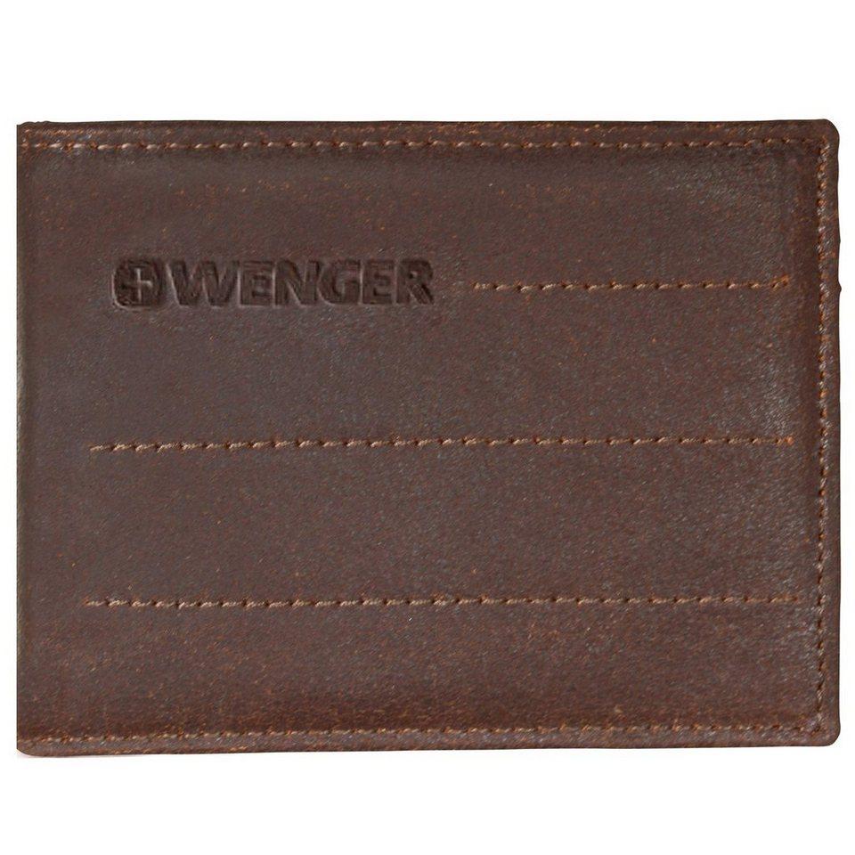 Wenger Street Hunter Geldbörse Leder 12 cm in brown