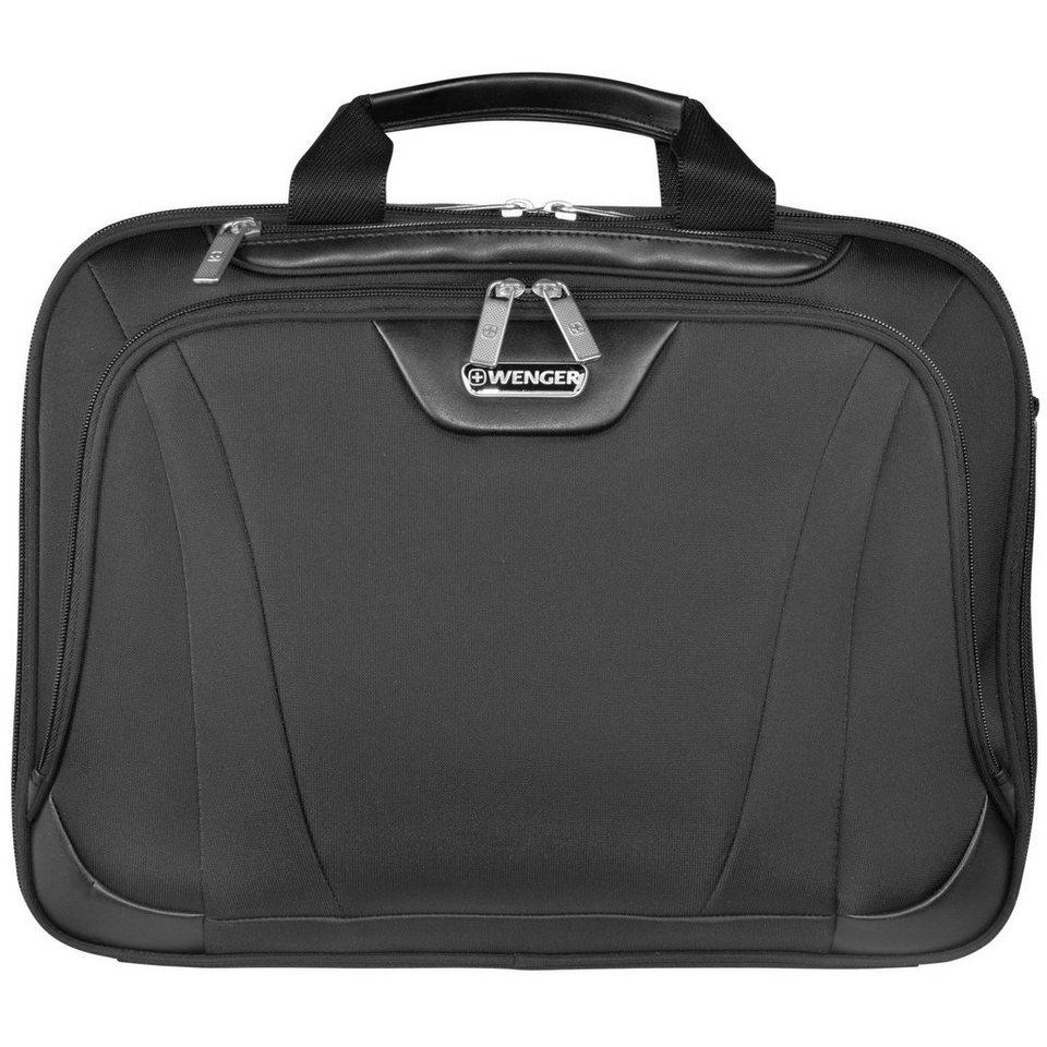 Wenger Laptoptaschen Single Compartment Brief Aktentasche 43 cm Laptopf in schwarz