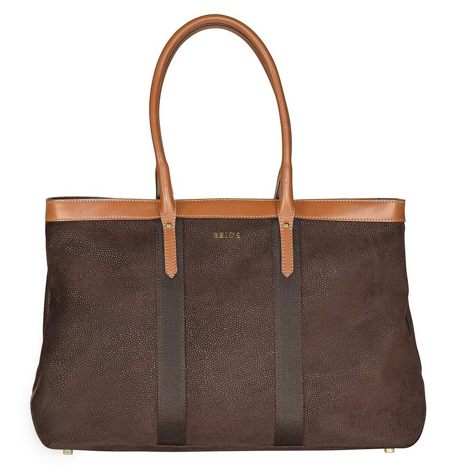 Bric's Bric's Life Shopper Tasche 43 cm in brown