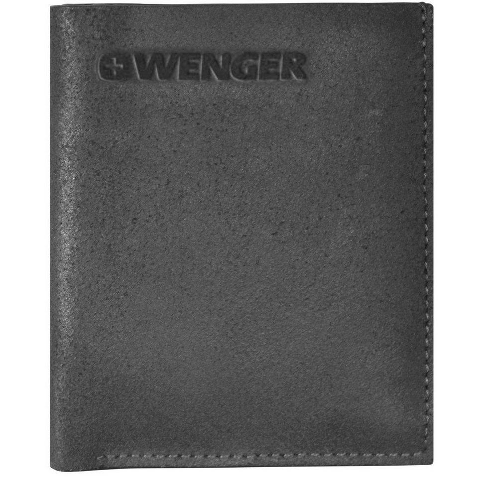 Wenger Wenger Foggy Geldbörse Leder 9 cm in black