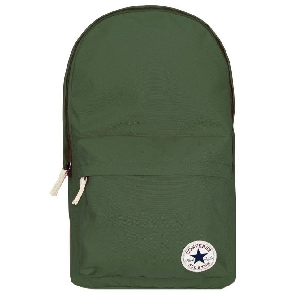 CONVERSE Core Poly Backpack Rucksack 47 cm Laptopfach in green