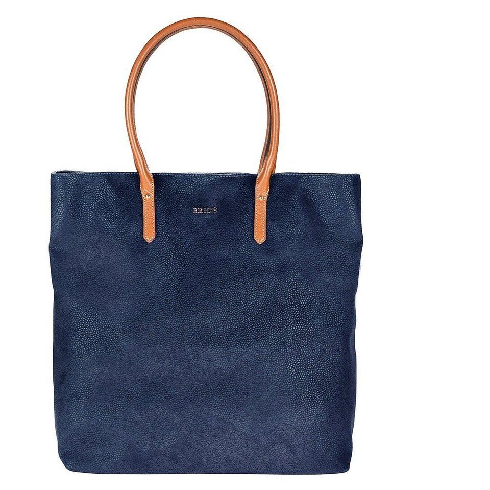 Bric's Life Shopper Tasche 33 cm in blue