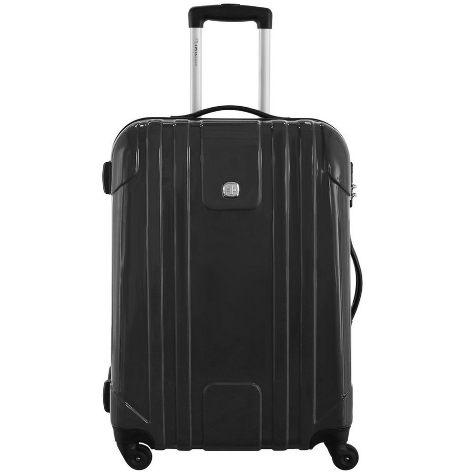 Wenger Luggage Reisegepäck PC Lite 4-Rollen Kabinentrolley 55 cm in schwarz