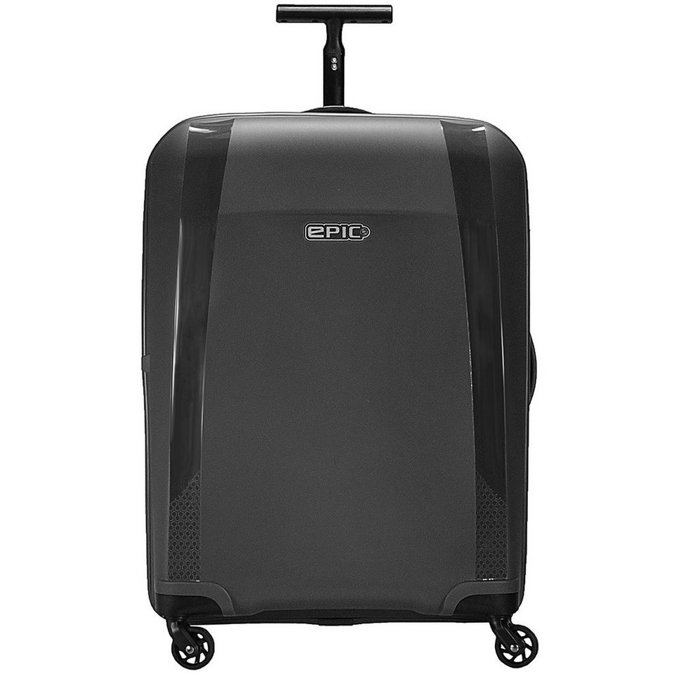 EPIC Phantom 4-Rollen Trolley 66 cm in black metal