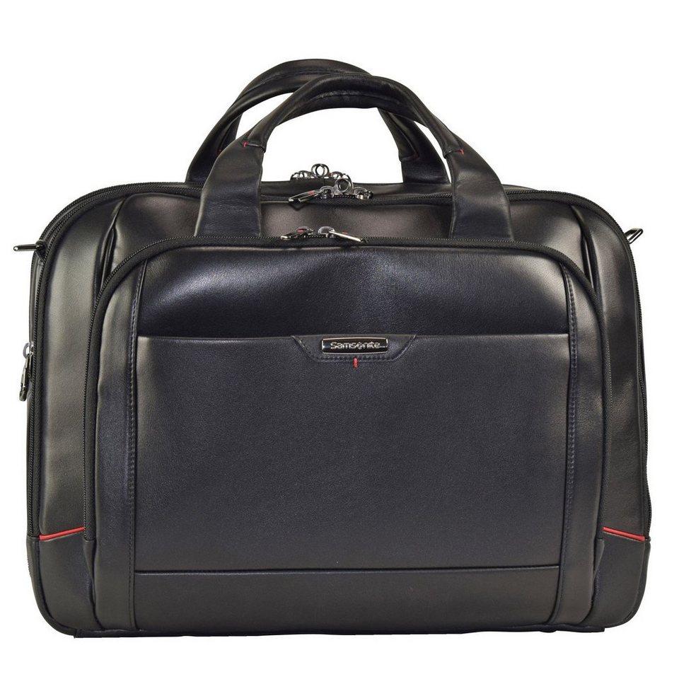 Samsonite Samsonite Pro-DLX 4 LTH Business Aktentasche 44 cm Laptopfach in black