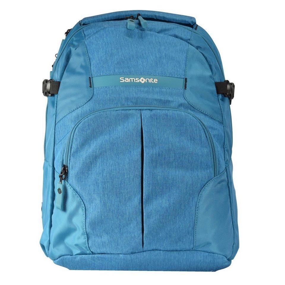 Samsonite Rewind Rucksack 44 cm Laptopfach in turquoise