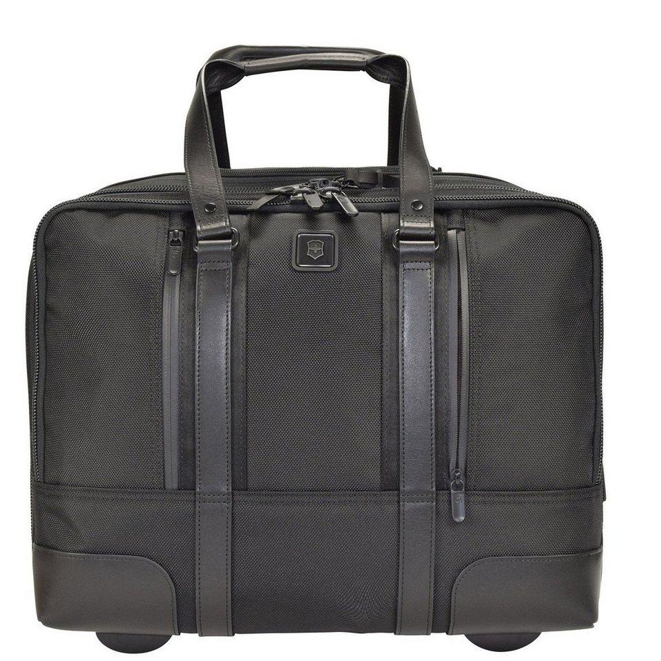 Victorinox Lexicon Professional 2-Rollen Businesstrolley 36 cm in schwarz