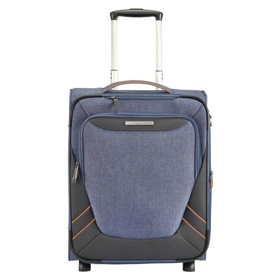 Travelite Travelite Mare 2-Rollen Kabinentrolley 53 cm in blau