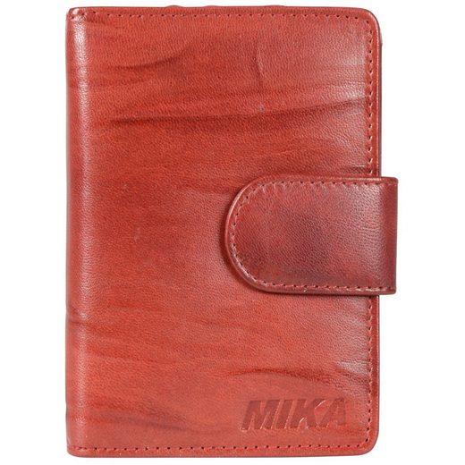 Mika Accessoires Geldbörse Leder 9,5 cm