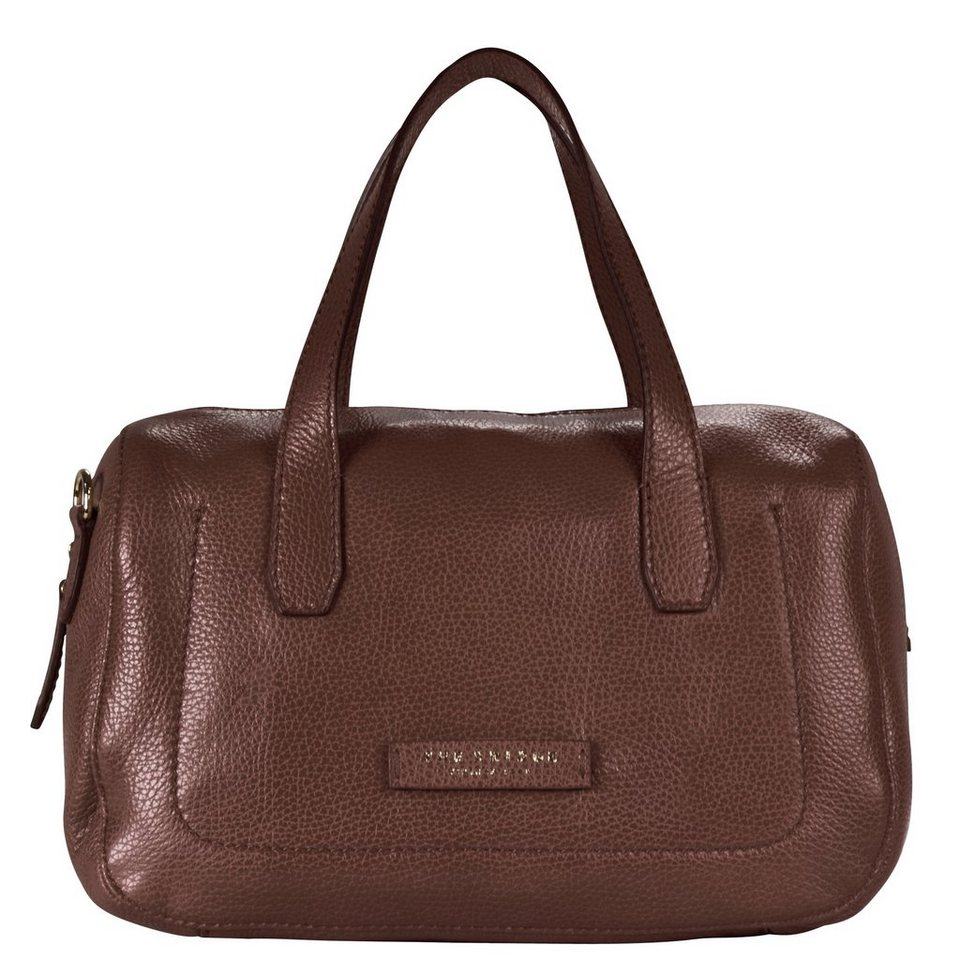 The Bridge Plume Soft Donna Umhängetasche Leder 30 cm in marrone