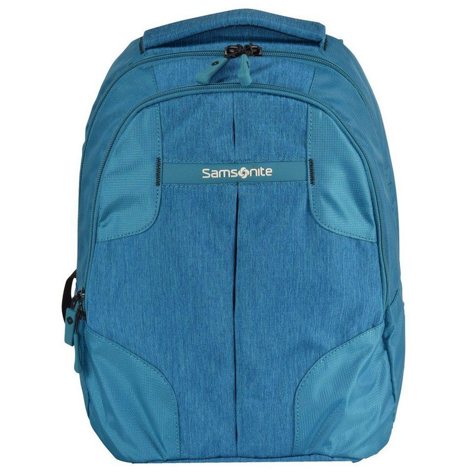 Samsonite Rewind Rucksack 38 cm in turquoise