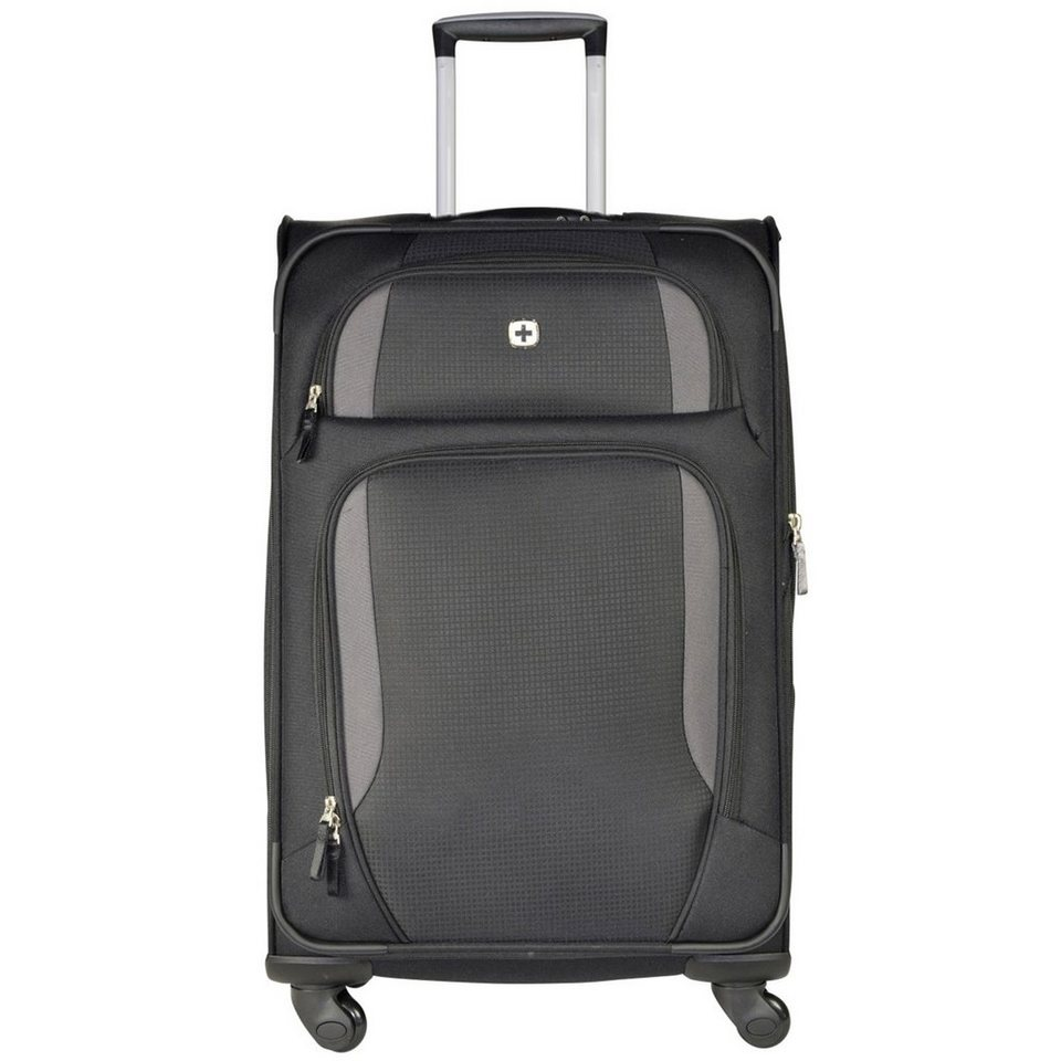 Wenger Luggage Reisegepäck Lugano 4-Rollen Trolley 63 cm in schwarz