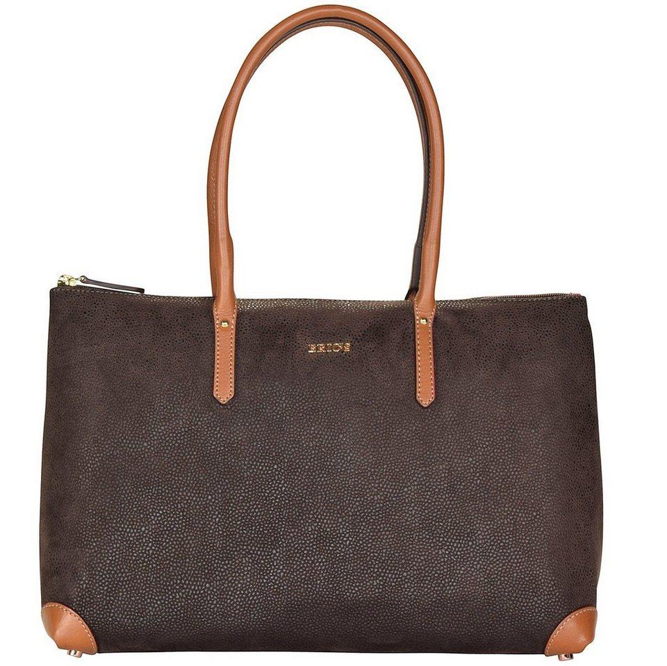 Bric's Life Shopper Tasche 38 cm in brown