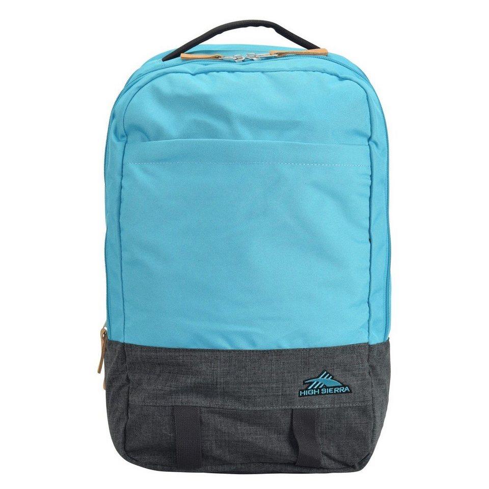 High Sierra High Sierra Urban Packs Doha Rucksack 45 cm Laptopfach in sea blue