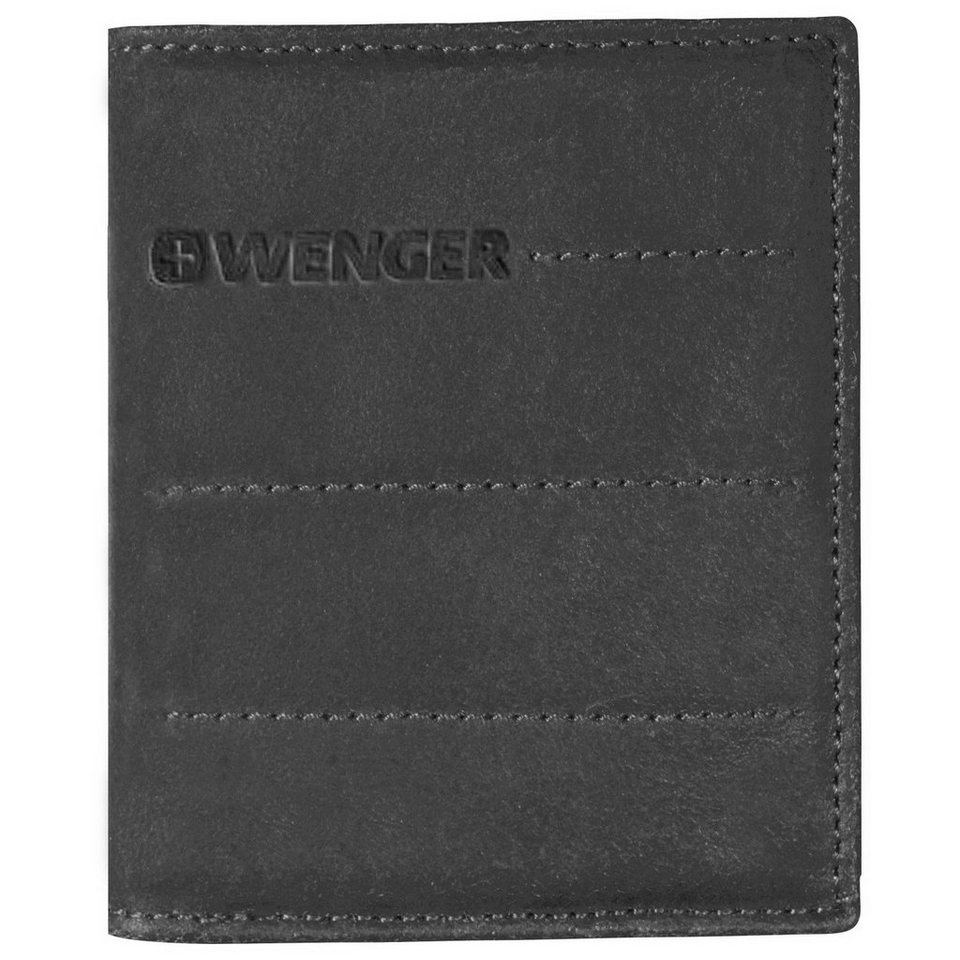 Wenger Street Hunter Geldbörse Leder 9 cm in black