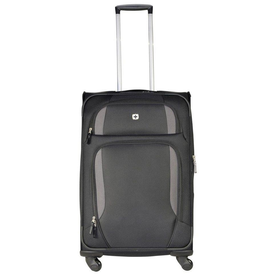 Wenger Wenger Luggage Reisegepäck Lugano 4-Rollen Kabinentrolley 51 cm in schwarz