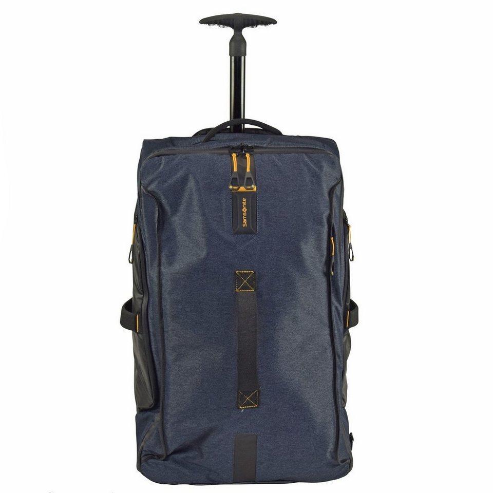 Samsonite Samsonite Paradiver Light Rollen-Reisetasche 67 cm in jeans blue
