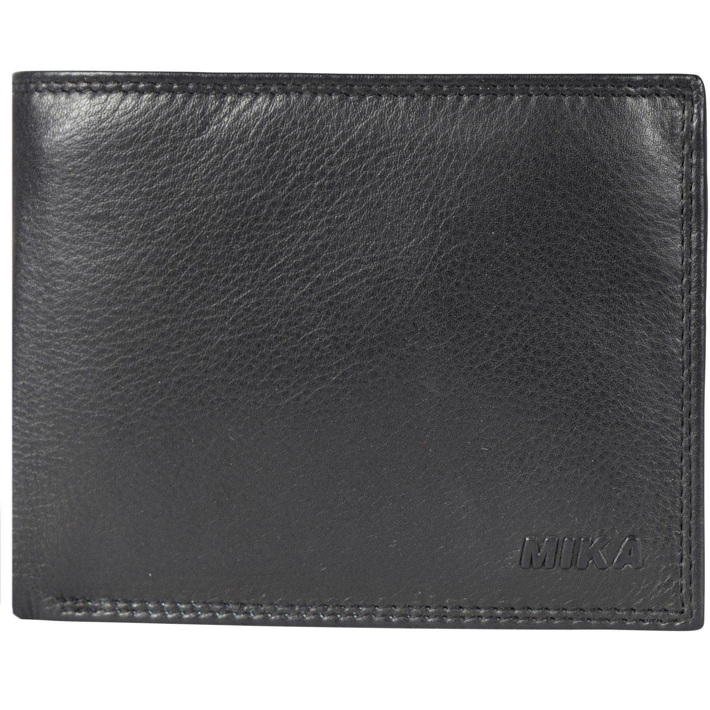 Mika Lederwaren Accessoires Geldbörse Leder 12,5 cm