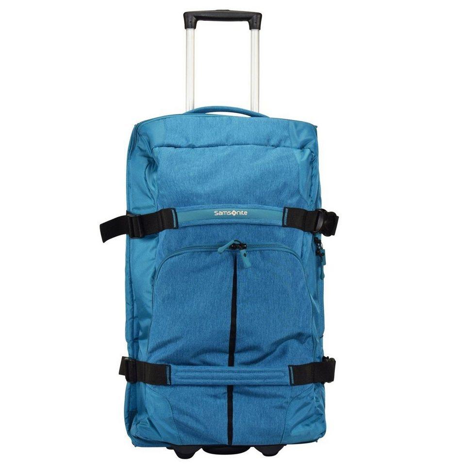 Samsonite Rewind 2-Rollen Reisetasche 68 cm in turquoise