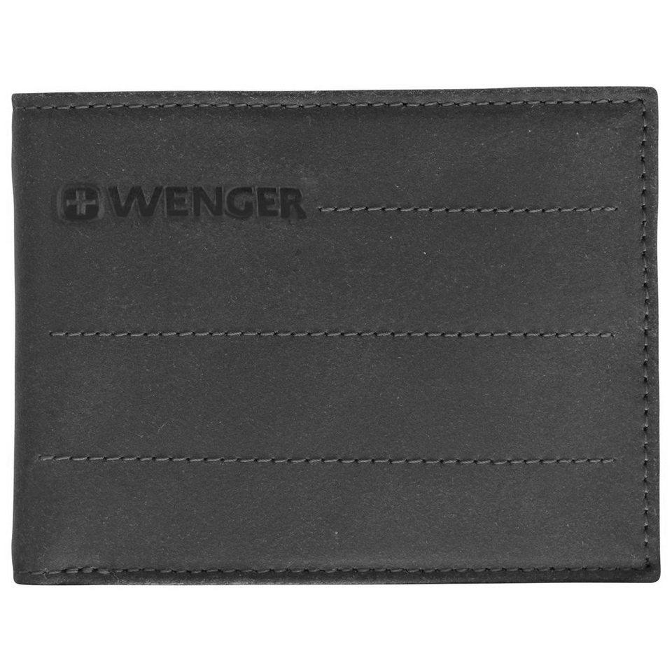 Wenger Wenger Street Hunter Geldbörse Leder 12 cm in black