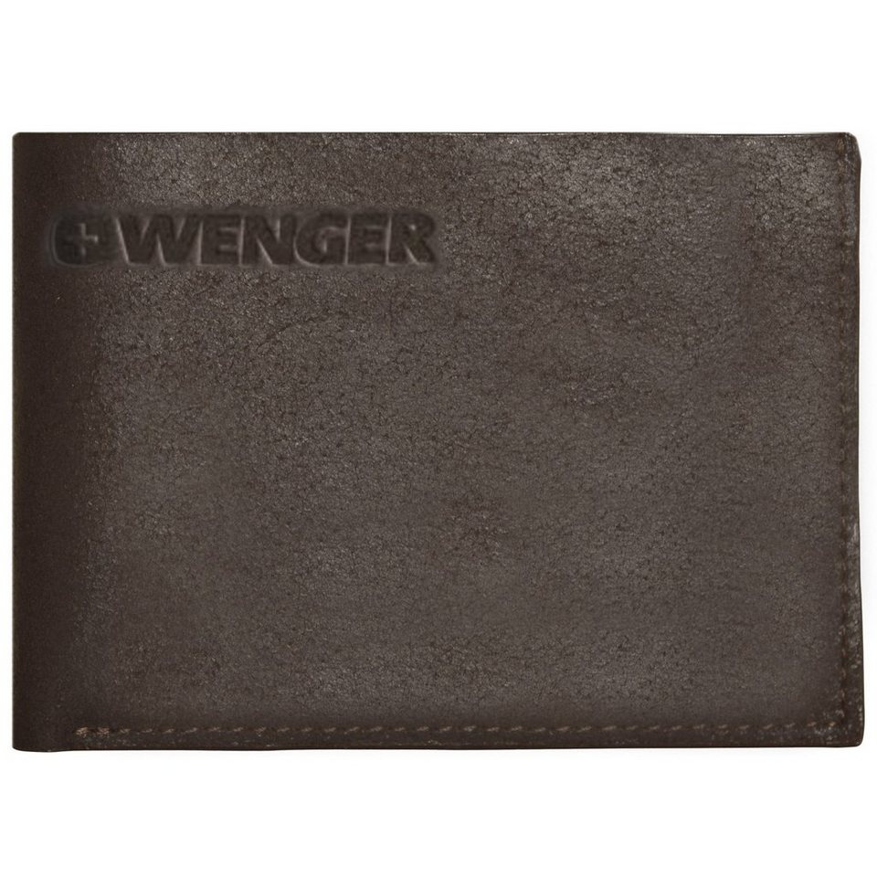 Wenger Foggy Geldbörse Leder 12 cm in brown