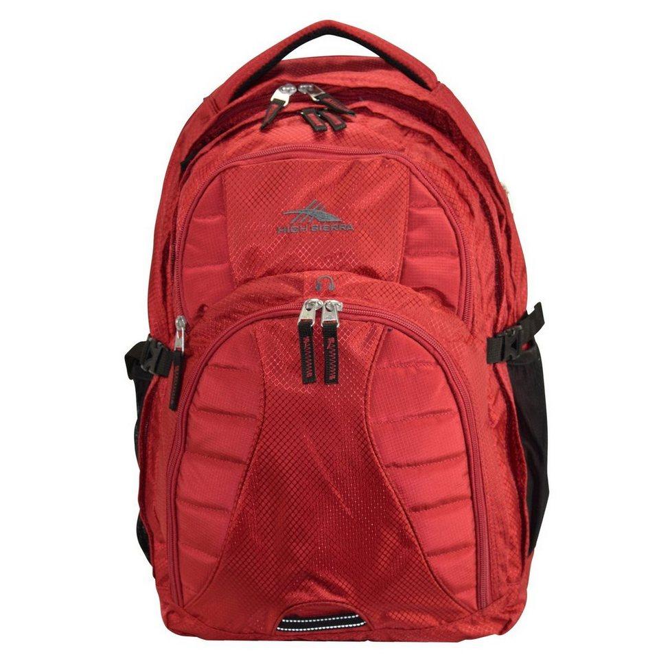 High Sierra High Sierra Sportive Packs Swerve3 Rucksack 48 cm Laptopfach in red