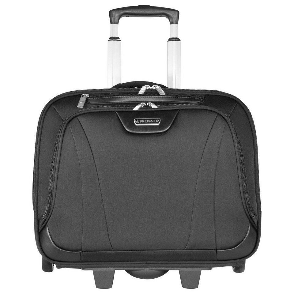 Wenger Reisegepäck 2-Rollen Trolley 44 cm Laptopfach in schwarz