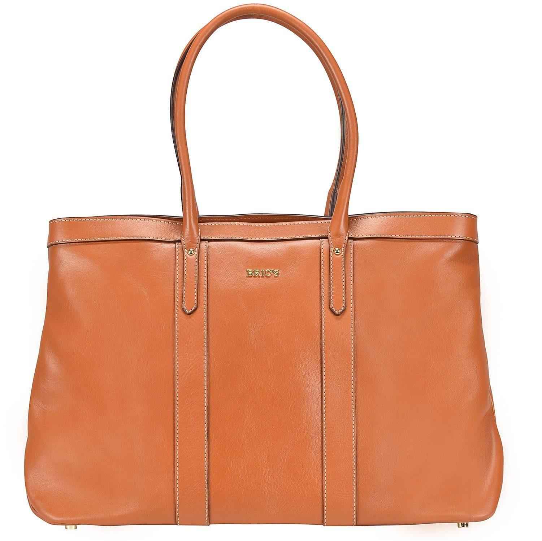 Bric's Life Pelle Shopper Tasche Leder 43 cm