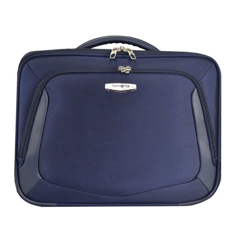 Samsonite X Blade 3.0 Flugumhänger Umhängetasche 45 cm Laptopfach in blue