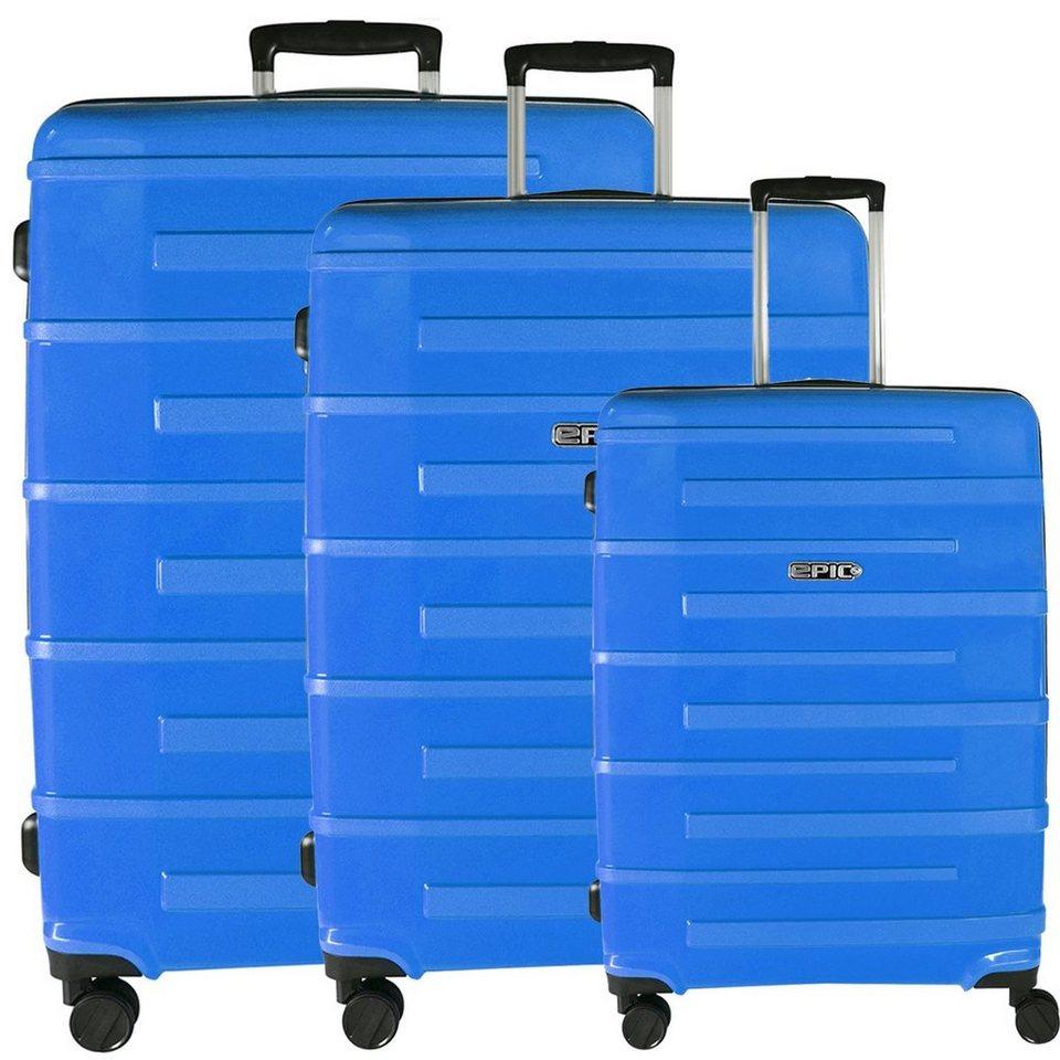 EPIC Epic Neo-X Ultra 4-Rollen-Trolley Set 3-tlg. in deep blue