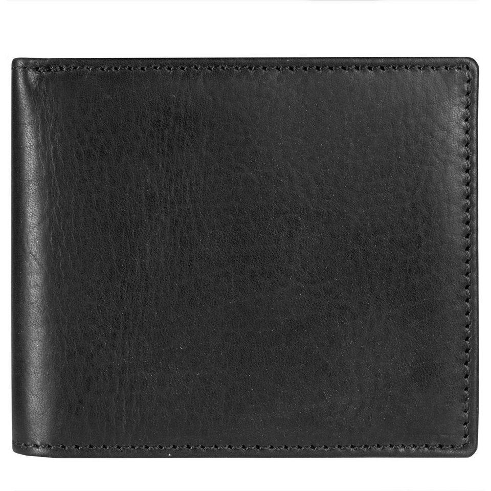 Leonhard Heyden Leonhard Heyden Roma Geldbörse Leder 11,5 cm in schwarz